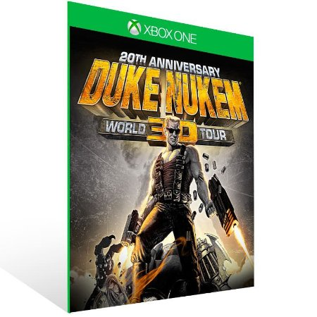 Duke Nukem 3D: 20Th Anniversary World Tour - Xbox One Live Mídia Digital