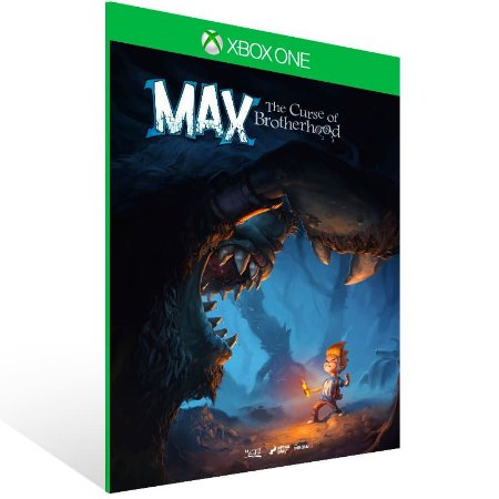 Max: The Curse of Brotherhood - Xbox One Live Mídia Digital