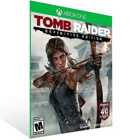 Tomb Raider: Definitive Edition - Xbox One Live Mídia Digital