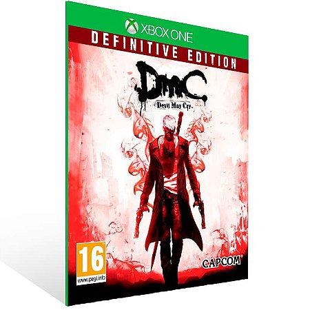 Dmc Devil May Cry: Definitive Edition - Xbox One Live Mídia Digital