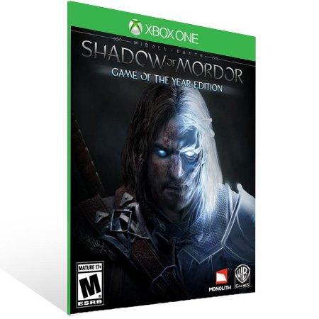 Middle-Earth: Shadow of Mordor - Xbox One Live Mídia Digital