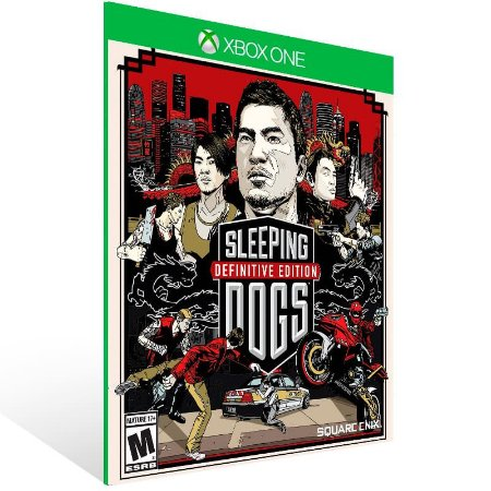 Sleeping Dogs: Definitive Edition - Xbox One Live Mídia Digital