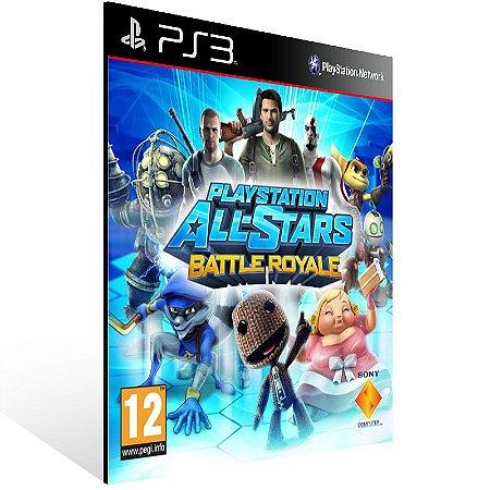 Playstation All Stars Battle Royale - Ps3 Psn Mídia Digital