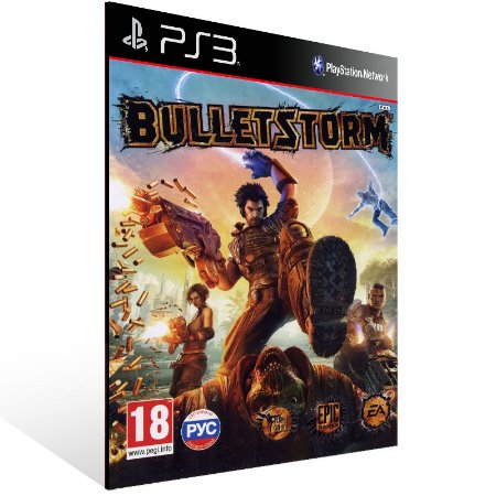 Bulletstorm - Ps3 Psn Midia Digital