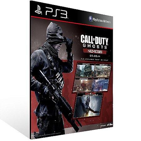 Call Of Duty Ghosts Nemesis - Ps3 Psn Mídia Digital