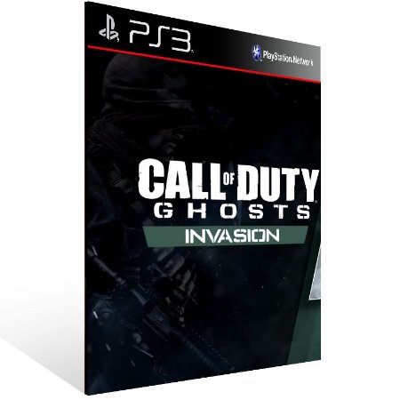 Call Of Duty Ghosts Invasion - Ps3 Psn Mídia Digital