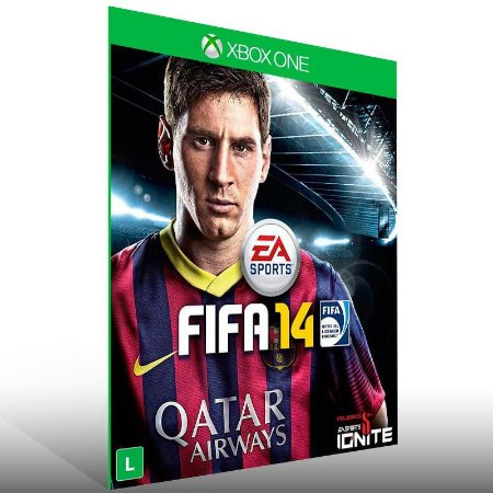 FIFA 14 - Xbox One Live Mídia Digital