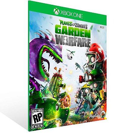 Plants Vs. Zombies Garden Warfare - Xbox One Live Mídia Digital