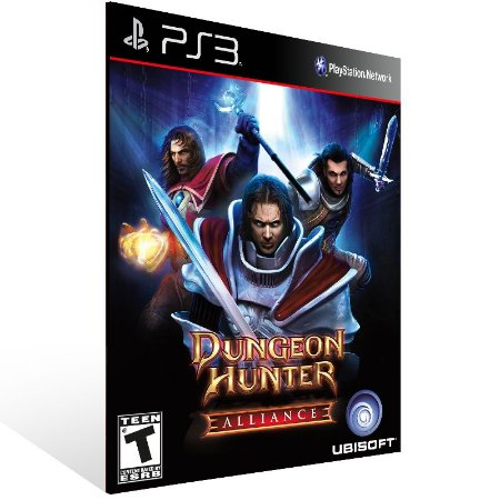 Dungeon Hunter Alliance - Ps3 Psn Mídia Digital