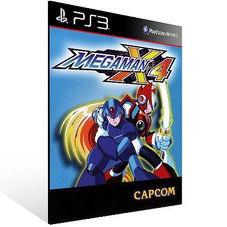 Mega Man X4 (Psone Classic) - Ps3 Psn Mídia Digital