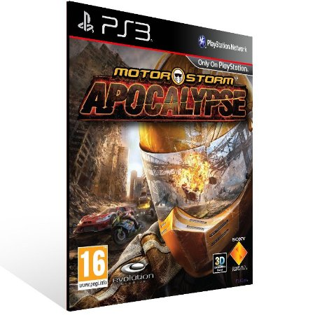 Motorstorm Apocalypse - Ps3 Psn Mídia Digital