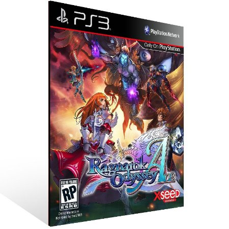 Ragnarok Odyssey Ace - Ps3 Psn Mídia Digital