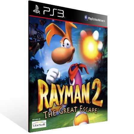 Rayman 2: The Great Escape (Psone Classic) - Ps3 Psn Mídia Digital