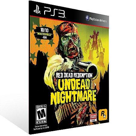 Red Dead Redemption Undead Nightmare - Ps3 Psn Mídia Digital