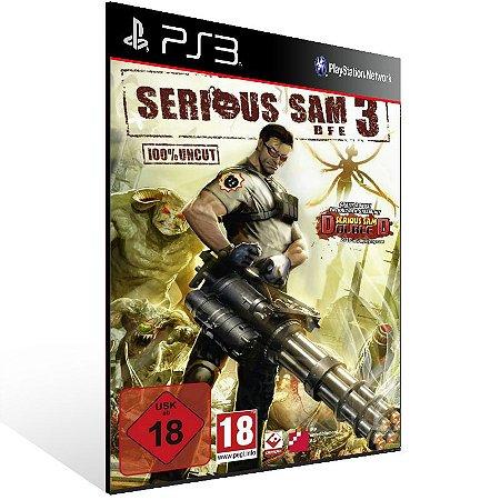 Serious Sam 3 Bfe - Ps3 Psn Mídia Digital