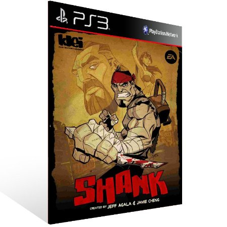 Shank - Ps3 Psn Mídia Digital