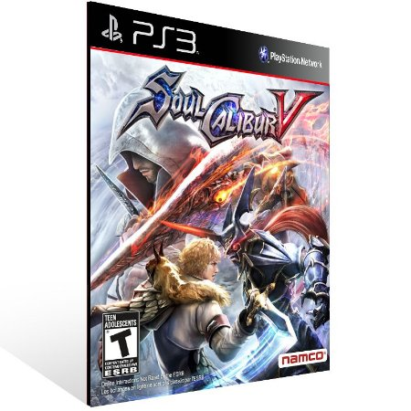 Soulcalibur 5 - Ps3 Psn Mídia Digital