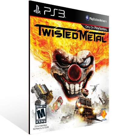 Twisted Metal - Ps3 Psn Mídia Digital