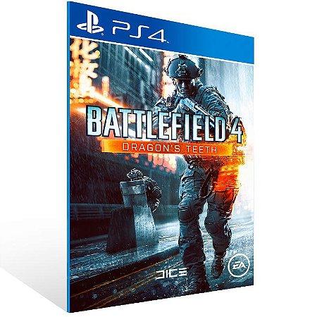 Battlefield 4 Dragons Teeth - Ps4 Psn Mídia Digital
