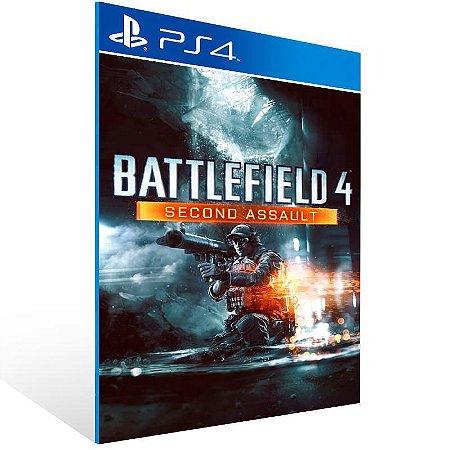 Battlefield 4 Second Assault - Ps4 Psn Mídia Digital