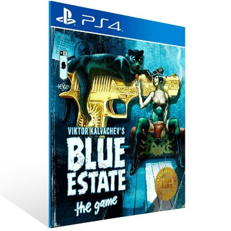 Blue Estate The Game - Ps4 Psn Mídia Digital