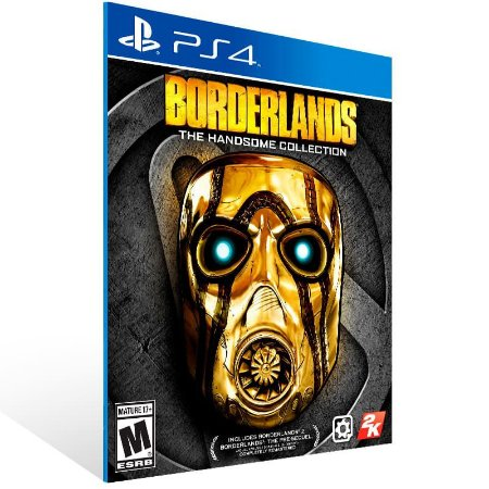 Borderlands: The Handsome Collection - Ps4 Psn Mídia Digital