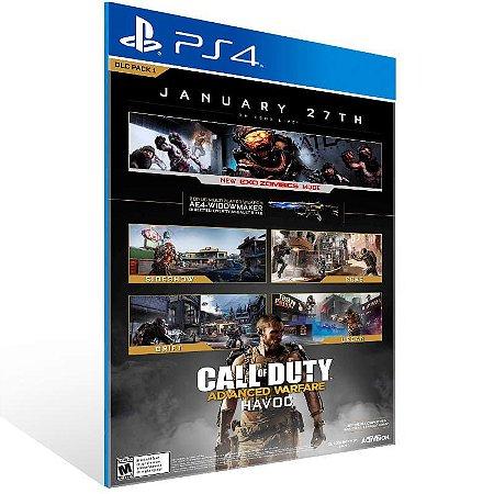Call Of Duty: Advanced Warfare Havoc Dlc - Ps4 Psn Mídia Digital