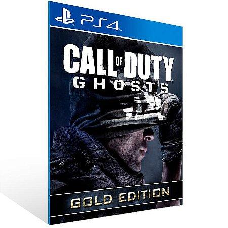 Call Of Duty Ghosts Gold Edition - Ps4 Psn Mídia Digital