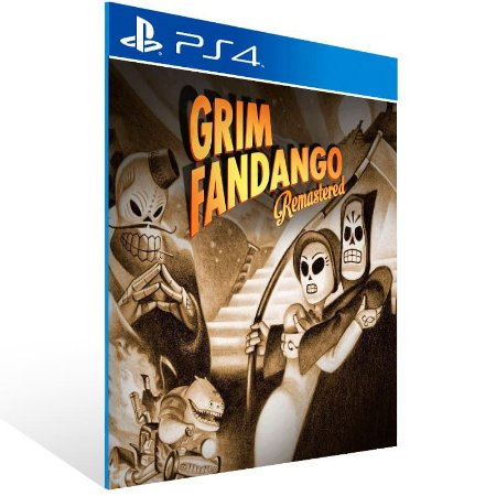 Grim Fandango Remastered - Ps4 Psn Mídia Digital
