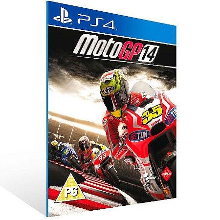 MotoGP 14 - Ps4 Psn Mídia Digital