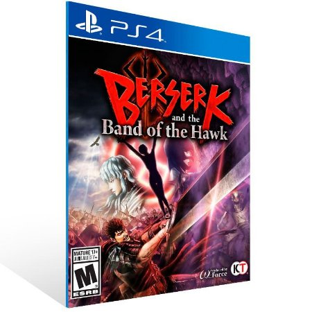 Berserk And The Band Of The Hawk With Bonus - Ps4 Psn Mídia Digital