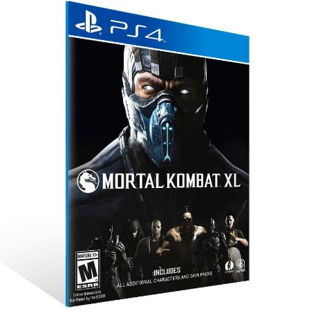 Mortal Kombat XL - Ps4 Psn Mídia Digital