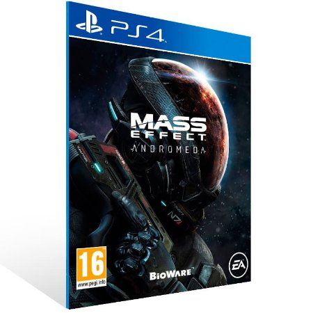 Mass Effect: Andromeda - Ps4 Psn Mídia Digital
