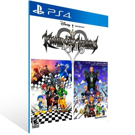 Kingdom Hearts Hd 1.5 + 2.5 Remix - Ps4 Psn Mídia Digital