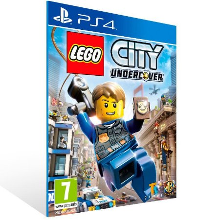 Lego City Undercover - Ps4 Psn Mídia Digital