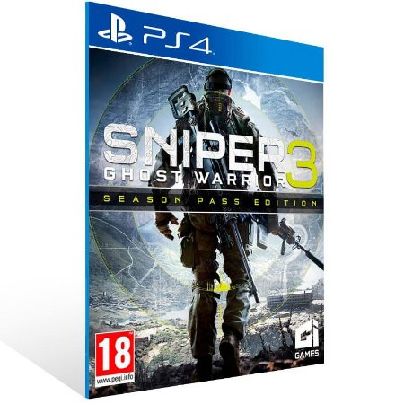 Sniper Ghost Warrior 3 Season Pass Edition - Ps4 Psn Mídia Digital
