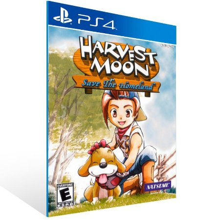 Harvest Moon Save The Homeland - Ps4 Psn Mídia Digital