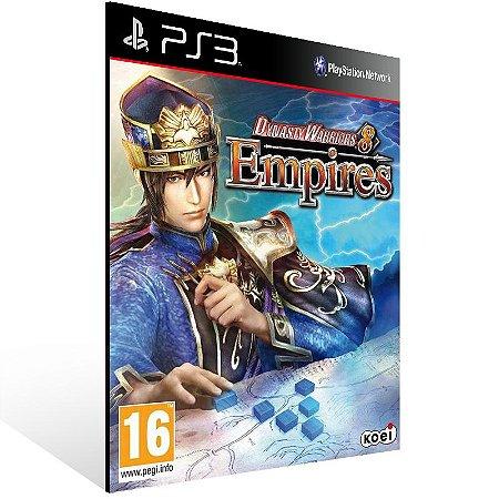 Dynasty Warriors 8 Empires - Ps3 Psn Midia Digital