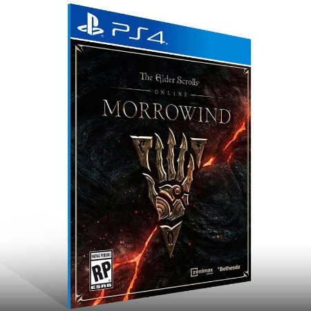 The Elder Scrolls Online Morrowind - Ps4 Psn Mídia Digital