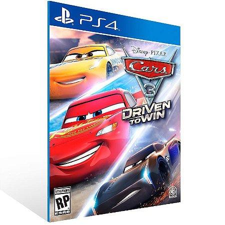 Cars 3 Driven to Win - Ps4 Psn Mídia Digital