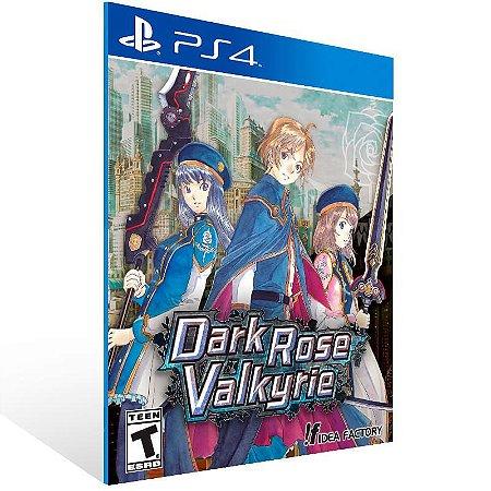 Dark Rose Valkyrie - Ps4 Psn Mídia Digital