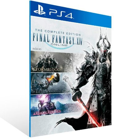 Final Fantasy XIV Online Complete Edition - Ps4 Psn Mídia Digital