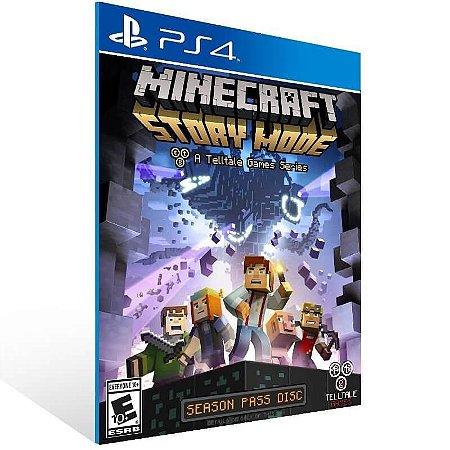 Minecraft Story Mode Season Two (Season Pass) - Ps4 Psn Mídia Digital
