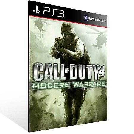 Call Of Duty 4 Modern Warfare Bundle - Ps3 Psn Midia Digital