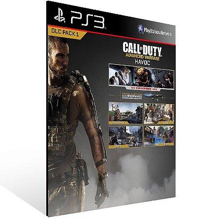 Call Of Duty: Advanced Warfare Havoc Dlc - Ps3 Psn Mídia Digital