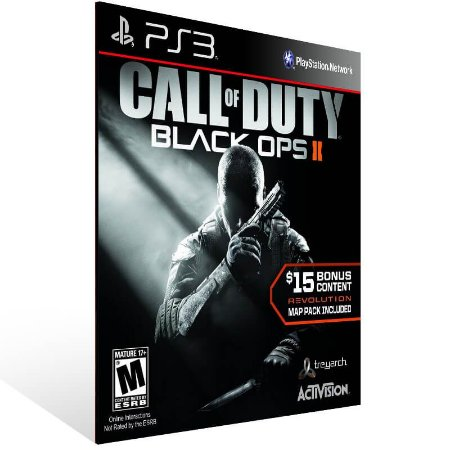 Call Of Duty Black Ops 2 + Revolution Map Pack - Ps3 Psn Mídia Digital
