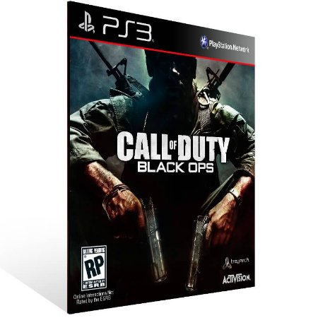 Call Of Duty Black Ops + First Strike - Ps3 Psn Mídia Digital