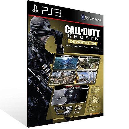 Call Of Duty: Ghosts Devastation - Ps3 Psn Mídia Digital