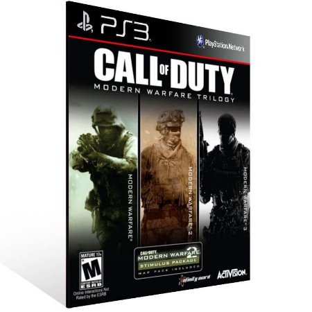 Call Of Duty Modern Warfare Bundle - Ps3 Psn Mídia Digital