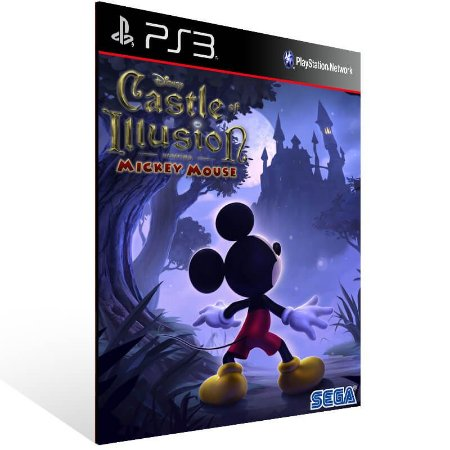 Castle Of Illusion Starring Mickey Mouse - Ps3 Psn Mídia Digital
